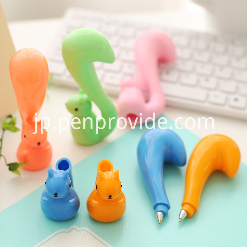 Cute animal promotion gift pen