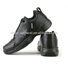 latest black PU basketball shoes for men