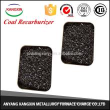 carvão / recarburante de baixo teor de enxofre para a produção de aço
