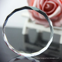 Free sample Clear Acrylic Paperweight/ Clear crystal paper weight