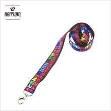 Sublimation Produkt Heat Transfer Druck Lanyard mit Hummer Klaue