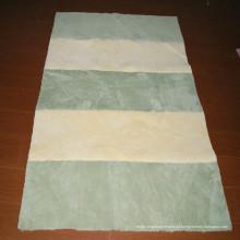Casa projeta tapete de revestimento tapete de pele sintética tapete