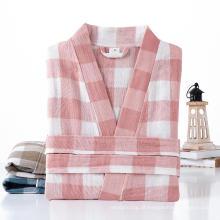 Roupão de banho de hotel de algodão estilo quimono personalizado