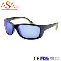 Óculos de sol polarizados com esportes masculinos baratos com certificado FDA (91066)