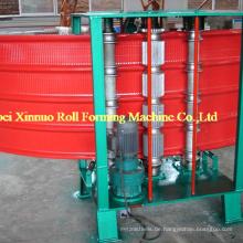 Hydraulischer Metallbogen galvanisierte gewölbte Stahlprofil-Dachplattenblatt-kurze kurvende Biegewalze, die Maschine für Verkauf bildet