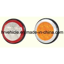 Светодиоды круглой формы Остановить поворотную лампу