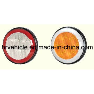 LED de forme ronde Arrêtez de tourner la lampe arrière