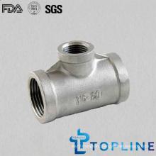 Stainless Steel Tee (reducing female)