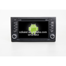 Quad core!car dvd with mirror link/DVR/TPMS/OBD2 for 7inch touch screen quad core 4.4 Android system A4