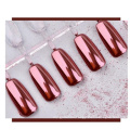 Pigmento de efecto espejo de uñas, pigmento de uñas de espejo cromado, pigmento de cromo espejo