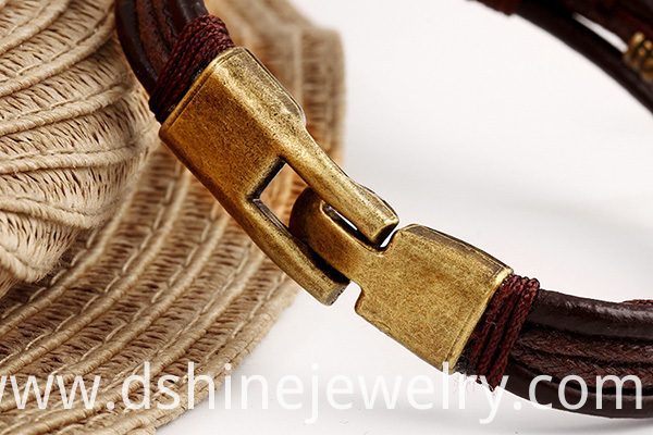 Multi Layers Leather Bracelet For Women