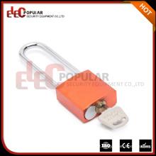 EP-8551A Elecpopular Wholesale Products 41mm Lock Body Long Shackle Cadeado colorido de alumínio