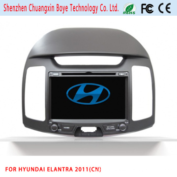 Reproductor de DVD de la caja del GPS de la navegación del coche para Hyundai Elantra 2011 (CN)