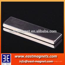 Imán plano de la barra de la atracción magnética sinterizada de alta calidad para la venta