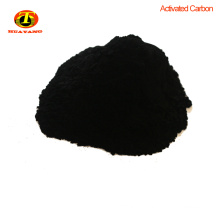 Wood based powder activated carbon purification for wastewater