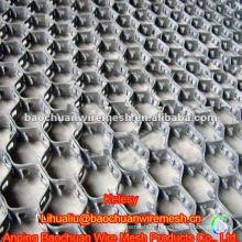 Aperture 50*50mm Carbon Steel 0Cr13 Tortoise Shell Mesh(Factory)