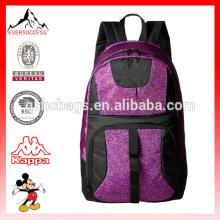 Mochila escolar más reciente de la mochila de la escuela de poliester Mochila escolar divertida de la mochila