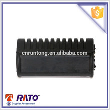 For 125 China wholesale motorcycle rubber parts black motorcycle step rubber