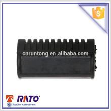 Для 125 китайских оптовых мотоциклов резиновые части черный мотоцикл шаг резиновые