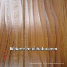 Plancher en bois gratté / sol stratifié de luxe