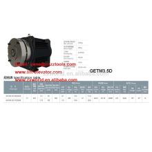 traction machine XIZI forvorda GETM3.5D MRL