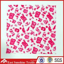 Personalisierte benutzerdefinierte Logo Digital gedruckt Polyester Stoff für Gläser / Schmuck / Uhr / Telefon