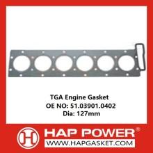 Junta del motor TGA 51.03901.0402