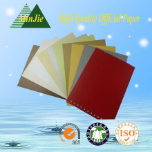Дунгуань Прямая продажа 100% деревянной целлюлозы Цветной A4 копия бумаги