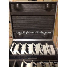 china aluminum flight cases with wheels and safe locks and strong handle player case