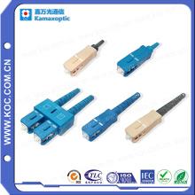 Sc Connector 0.9 / 2.0 / 3.0 Haute Qualité Fibre Optique Sc Connecteur