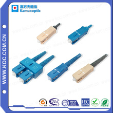 Sc Connector 0.9/2.0/3.0 High Quality Fiber Optic Sc Connector