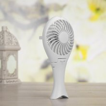 Portable Mini USB Rechargeable Cable Desk Tablet Fan