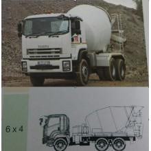 Camion de camionnage d'agitation d'Isuzu VC46
