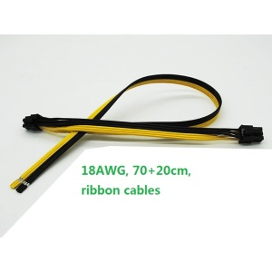 Dual 6 Pin Cable for Mining Farm