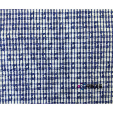 Jacquard Woven Cotton Yarn Dyed Fabric