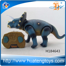 3D Remote Control Dinosours series Animal PVC Plastic Figurine for kids