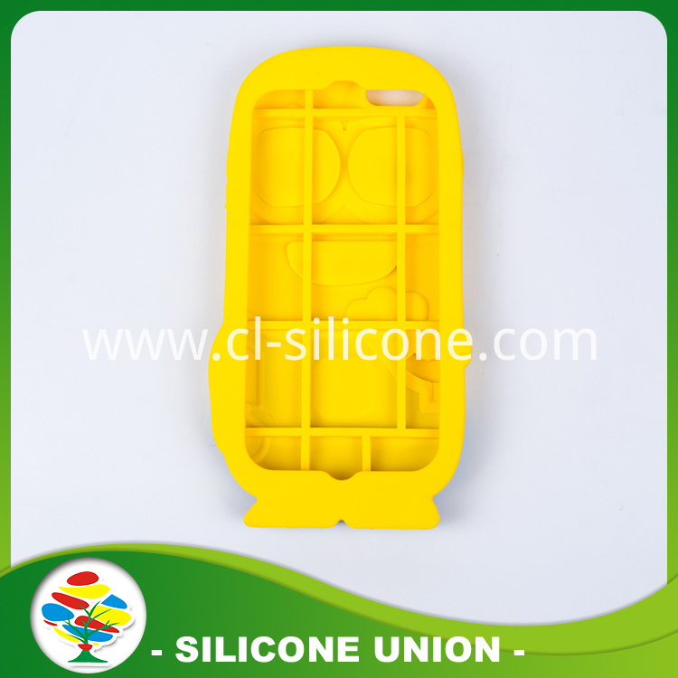 Silicone Cellhone Wallet Anime Doll