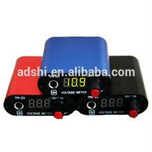 Heiße Verkaufsqualität Berufsvorgerückte LED Digital-Minitätowierung-Maschinen-Spg.Versorgungsteil mit Fuß-Pedal + Klipp-Schnur