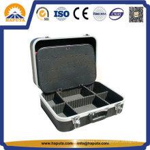 Жесткий инструмент ABS кейс для хранения с алюминиевой рамкой (HT-5001)