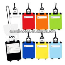 Fashion shaped luggage tag