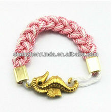 2013 New Product Turk's Head Knot Rope Bracelets Hand-knotted Friendship Bracelet