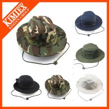 Bonnet à godets en gros, chapeau à godets bon marché, bouchon à godet en coton
