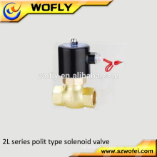 Hochtemperatur 0-150 Grad 2L Dampf 24volt Wassermagnetventil