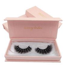 wholesale mink lashes 3d fake natural bushy false eyelashes luxury box eyelashes mink 3d