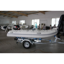 small inflatable RIB fiberglass boat for factory