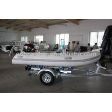 небольшой надувной лодки ребра стекловолокна для завода