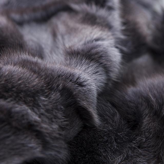 Fashion cashmere fur coat cashmere fur coat