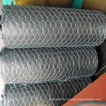 Malla de alambre hexagonal galvanizada sumergida caliente para el alambre de pollo