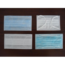 Latex Free Non Woven Earloop or Tie-on Face Mask