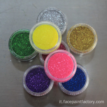 glitter tattoo kit in polvere